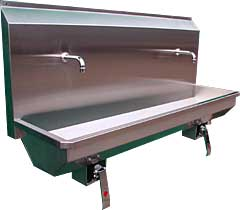 Hand Wash Troughs from DT Saunders Ltd (image 2)