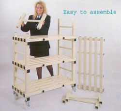 Plastic Storage Racking from DT Saunders Ltd (image 3)