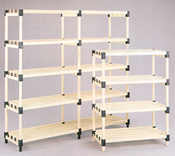Plastic Storage Racking from DT Saunders Ltd (image 1)